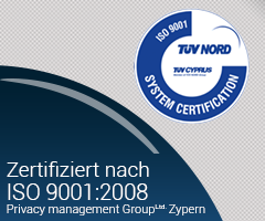 TUV NORD certified
